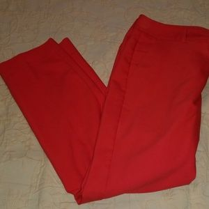 Red Express trousers